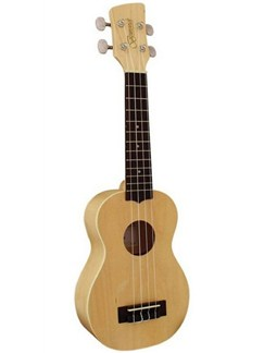 Brunswick: BU5C Concert Ukulele - Blonde Finish Maple Instruments | Ukulele