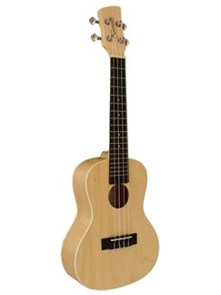 Brunswick: BU5S Soprano Ukulele - Blonde Finish Maple Instruments | Ukulele