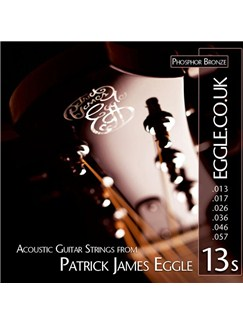 Patrick James Eggle: Acoustic Guitar Strings Set - 13 - 57  | Akustisk guitar