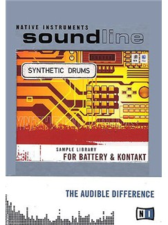 Native Instruments: Battery Synthetic Drums CD-Roms / DVD-Roms | Drums, Percussion