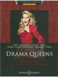 Ed. Alan Curtis: Drama Queens Books | Voice, Piano Accompaniment