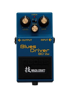Boss: BD-2W Waza Craft Custom Blues Driver Guitar Effects Pedal  | Guitar