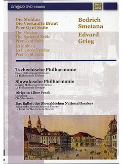 Bedrich Smetana And Edvard Grieg: The Moldau, The Bartered Bride And Peer Gynt Suite (DVD) DVDs / Videos | Orquesta