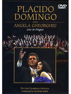 Placido Domingo: Live In Prague With Angela Gheorghiu DVDs / Videos |