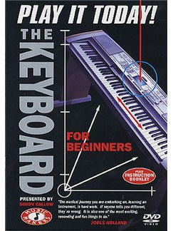 Music Makers: The Keyboard For Beginners- Play It Today DVDs / Videos | Keyboard