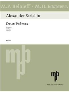 Alexander Nikolajewitsch Skrjabin: Deux Poèmes Op. 32 Books | Klavier