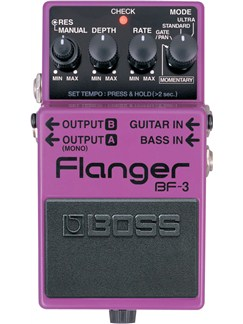 Boss: BF3 Flanger Pedal  | Electric Guitar