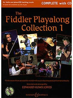 Fiddler Playalong Collection 1 Books and CDs | Violin, Piano Accompaniment