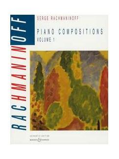 Sergei Rachmaninoff: Piano Compositions Volume 1 Books | Piano