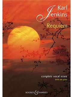 Karl Jenkins: Requiem (Vocal Score) Books | SATB, Piano Accompaniment