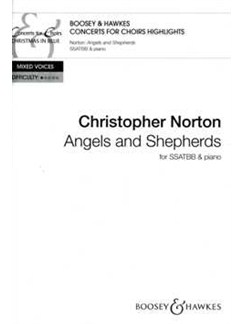 Christopher Norton: Angels And Shepherds Books | SSATBB, Piano