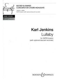 Karl Jenkins: Lullaby Books | SATB, Piano, Soprano (Descant) Recorder