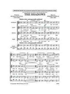 Herbert Howells: The Shadows Books | SSAATTBB
