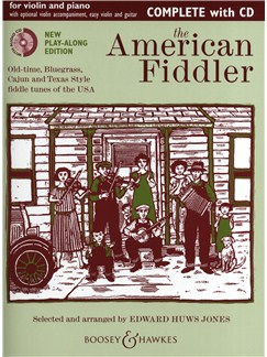 The American Fiddler - Violin/Piano (Play-Along Edition) Books and CDs | Violin, Piano Accompaniment