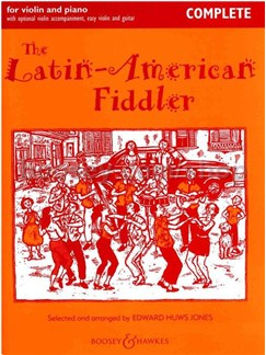 The Latin-American Fiddler (Violin And Piano) Books and CDs | Violin/Piano Accompaniment