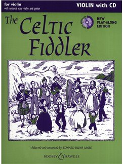 The Celtic Fiddler - Violin (Play-Along Edition) Books and CDs | Violin