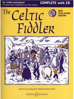 The Celtic Fiddler - Violin/Piano (New Edition) Books and CDs | Violin, Piano Accompaniment