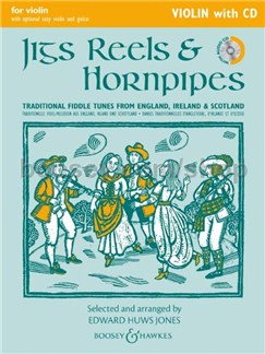 Edward Huws Jones: Jigs, Reels & Hornpipes (2014 Edition) Books and CDs | Violin