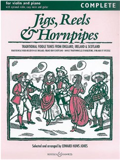 Edward Huws Jones: Jigs, Reels & Hornpipes Books | Violin, Piano Accompaniment