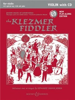 Edward Huws Jones: The Klezmer Fiddler - New Edition: Violin Part (Book/CD) Books and CDs | Violin