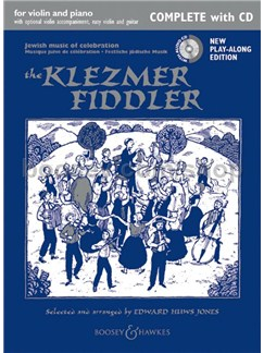 The Klezmer Fiddler (Complete With CD) Books and CDs | Violin, Piano Accompaniment