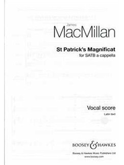 James MacMillan: St Patrick's Magnificat Books   SATB