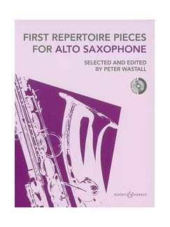 First Repertoire Pieces - Alto Saxophone (2012 Edition) Books and CDs | Alto Saxophone, Piano Accompaniment