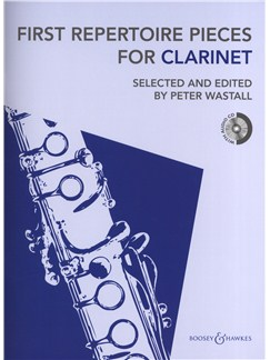 First Repertoire Pieces For Clarinet Books and CDs | Clarinet, Piano Accompaniment