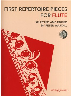 First Repertoire Pieces - Flute (2012 Edition) Books and CDs | Flute, Piano Accompaniment