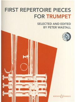 First Repertoire Pieces - Trumpet (2012 Edition) Books and CDs | Trumpet, Piano Accompaniment