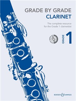 Grade By Grade Clarinet: Grade 1 - Book/CD Books and CDs | Clarinet