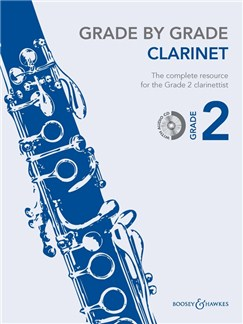Grade By Grade Clarinet: Grade 2 - Book/CD Books and CDs | Clarinet