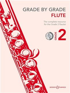 Grade By Grade Flute: Grade 2 - Book/CD Books and CDs | Flute