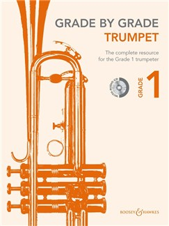 Grade By Grade Trumpet: Grade 1 - Book/CD Books and CDs | Trumpet