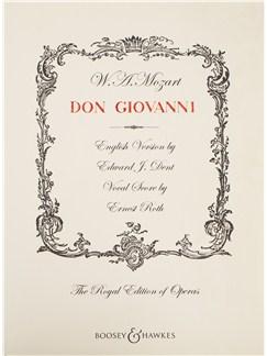 W. A. Mozart: Don Giovanni - Vocal Opera Score Books | Opera, Piano Accompaniment