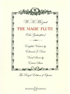 W. A. Mozart: The Magic Flute - Vocal Score (Larger Print Edition) Books | Voice, Piano Accompaniment