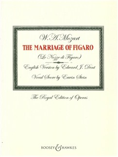 W. A. Mozart: The Marriage Of Figaro - Vocal Score Books | Piano Accompaniment, Voice