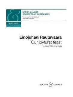 Einojuhani Rautavaara: Our Joyful'st Feast Books | SAATTBB, Choral