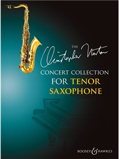 Christopher Norton: Concert Collection For Tenor Saxophone Books | Tenor Saxophone, Piano Accompaniment