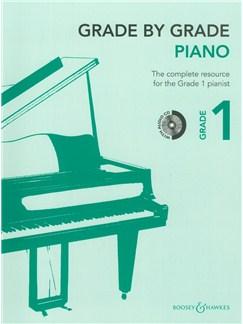 Grade By Grade: Piano - Grade 1 (Book/CD) Books and CDs | Piano