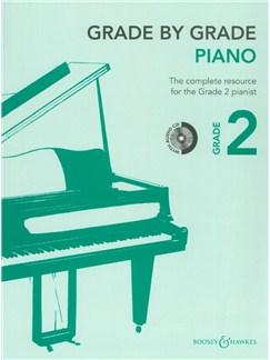 Grade By Grade: Piano - Grade 2 (Book/CD) Books and CDs | Piano