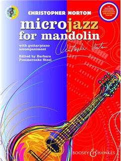 Christopher Norton: Microjazz For Mandolin (Book/CD) Books and CDs | Mandolin