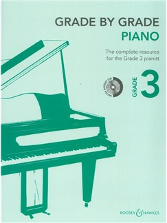 Grade By Grade: Piano - Grade 3 (Book/CD) Books and CDs | Piano