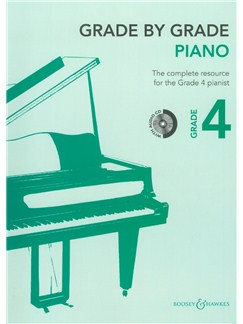 Grade By Grade: Piano - Grade 4 (Book/CD) Books and CDs | Piano