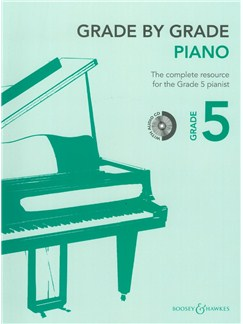 Grade By Grade: Piano - Grade 5 (Book/CD) Books and CDs | Piano