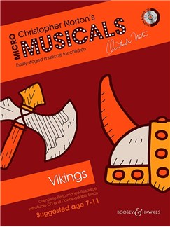 Christopher Norton: Micromusicals - The Vikings (Book/CD) Books and CDs | Voice, Piano Accompaniment, Guitar