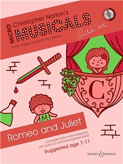 Christopher Norton: Micromusicals - Romeo And Juliet  (Book/CD) Books and CDs | Voice, Piano Accompaniment, Guitar