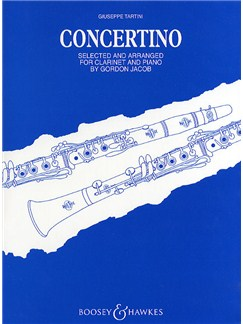 Giuseppe Tartini: Concertino (Clarinet/Piano) Books | Clarinet, Piano Accompaniment