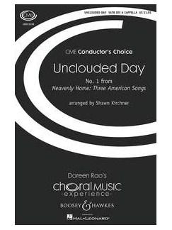 Rev. J. K. Alwood: Unclouded Day Books   SSAATTBB, Choral