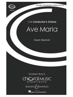 Imant Raminsh: Ave Maria Books | Mezzo-Soprano, SATB